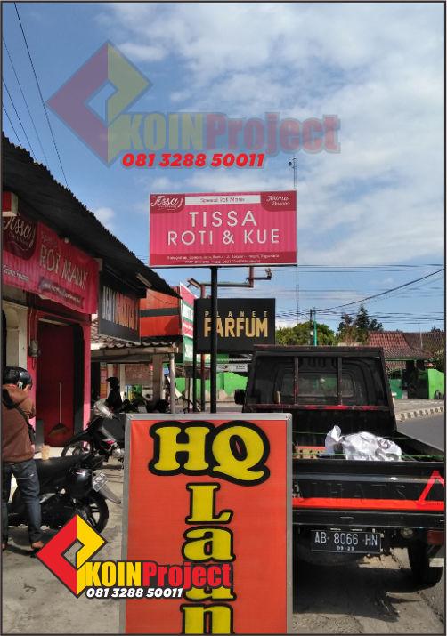 Pembuatan reklame papan plang nama murah jogja