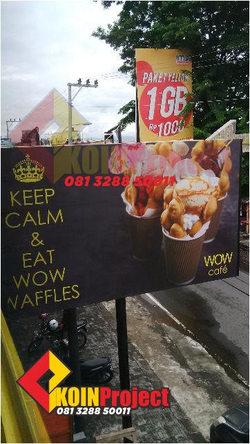 reklame papan plang nama murah
