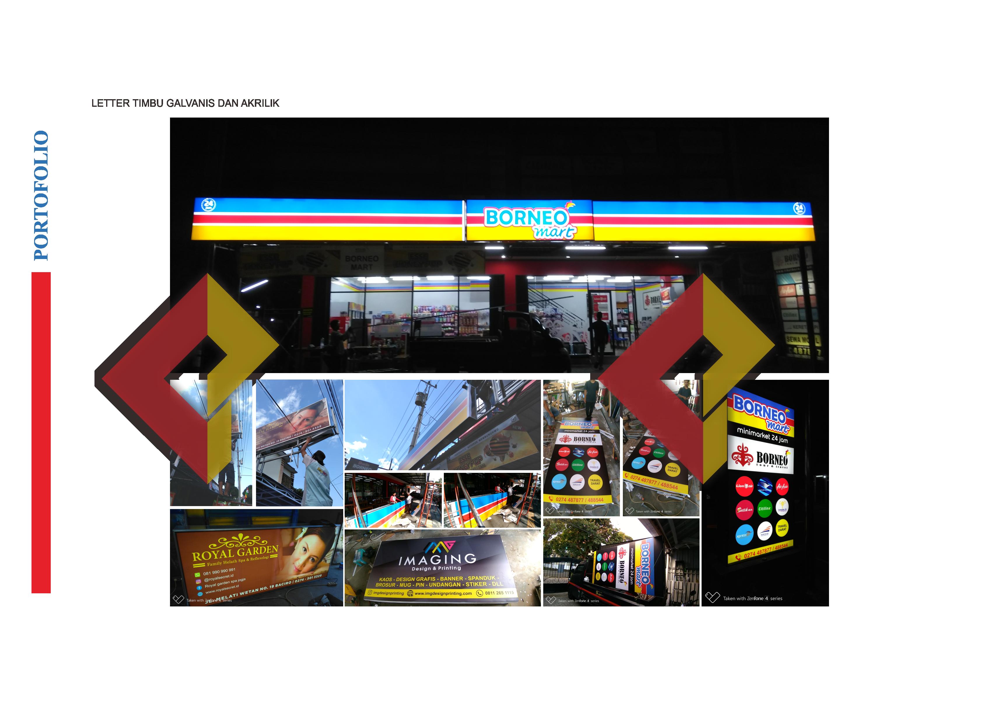 Neon Box murah di Jogja