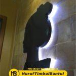 Jasa Huruf Timbul letter di Bantul