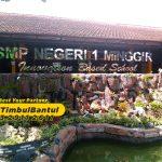Jasa Huruf Timbul stainless sekolah di Bantul