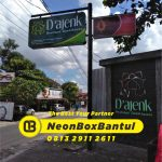 Jasa Neon box murah Bantul jogjakarta