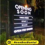 Neon Box butik murah di Bantul