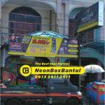 Neon Box printing murah di Bantul