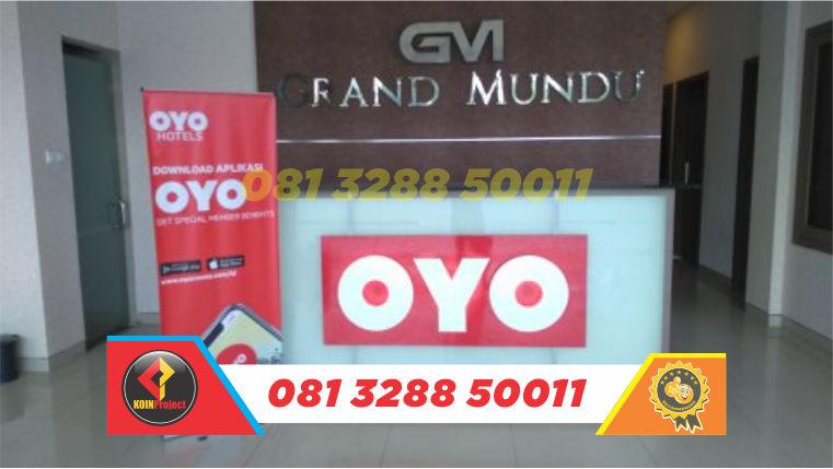 toko huruf timbul murah oyo rooms Di Semarang