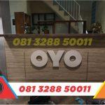 toko huruf timbul murah oyo rooms Jepara