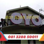 toko huruf timbul murah oyo rooms Semarang