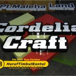 Jasa Huruf Timbul galvanis cordelia craft di Bantul