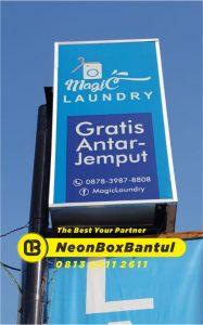 Neon Box laundry di Bantul