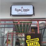 Neon Box pusat oleh-oleh murah di Bantul