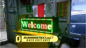 jual running text jogja